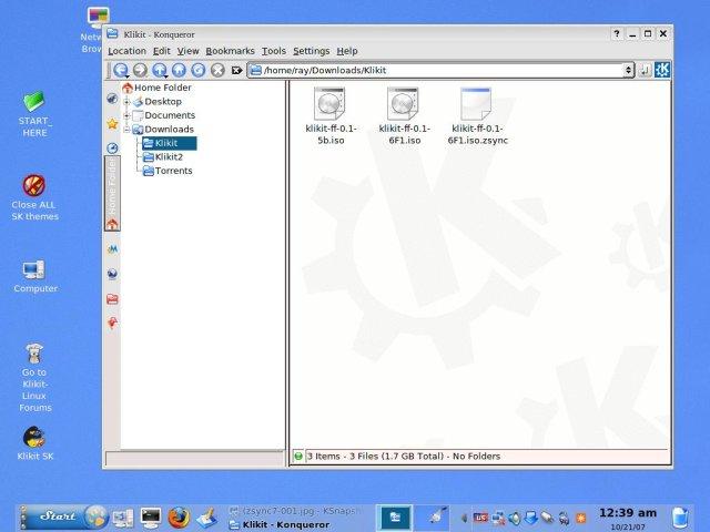 Klikit-Linux Wiki / Updating with Zsync